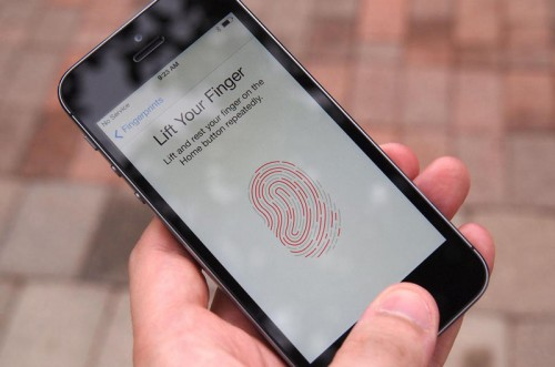 finger print Smartphone Security