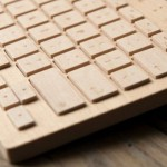 oree board keyboard dari kayu