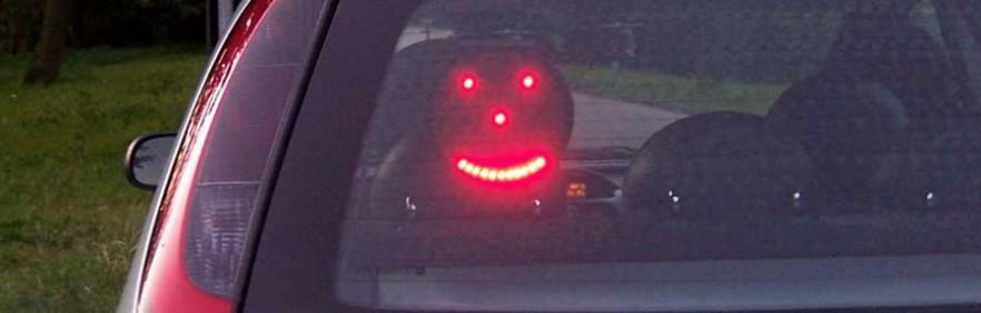 Drivemocion LED Car Sign